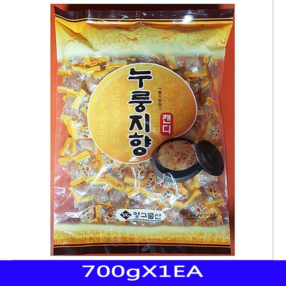 누룽지사탕 업소용 간식 대용량 쌀로만 700gX1EA