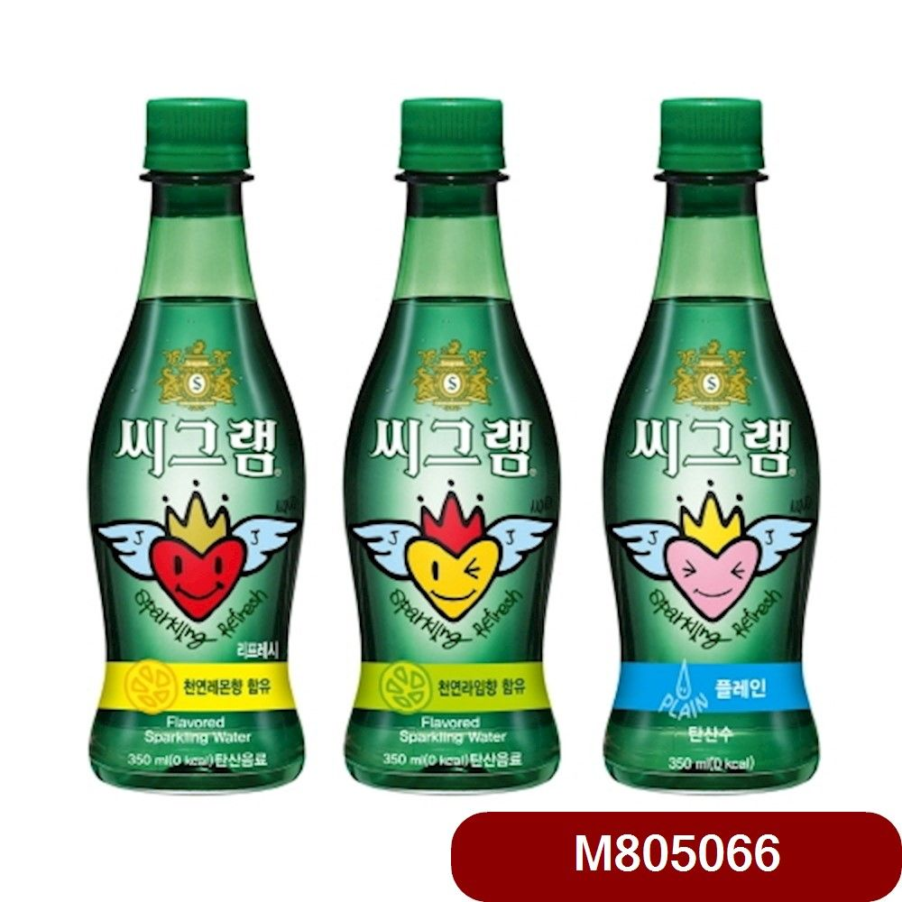 코카 씨그램 플레인 350㎖ 24입 밤샘 에너지음료