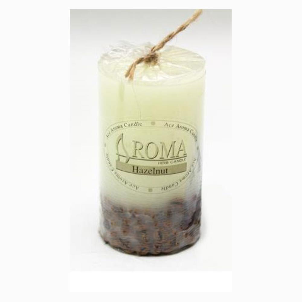 원형 커피향 향초 소 6X10cm 방향제 캔들 인테리어 아로마향초 인테리어소품