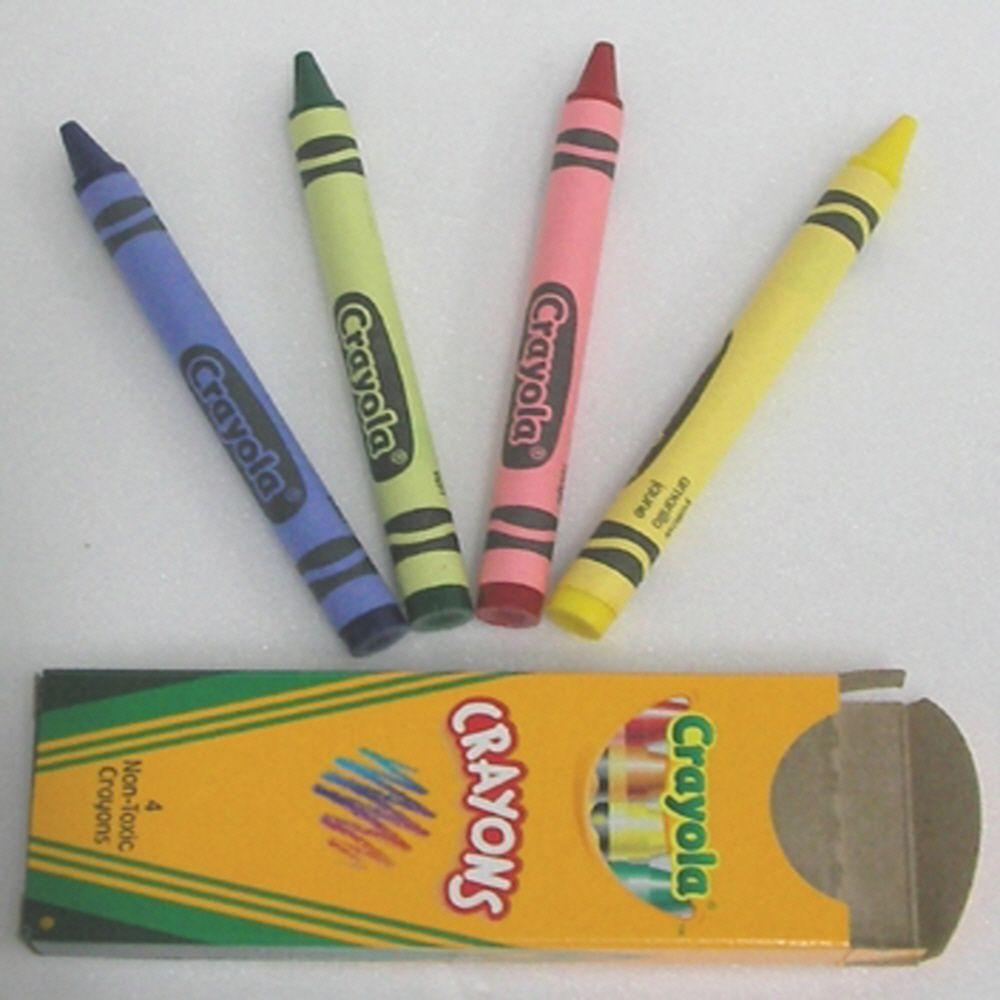 색칠 놀이 그림 그리기 미술 놀이 일반 크레용 4색