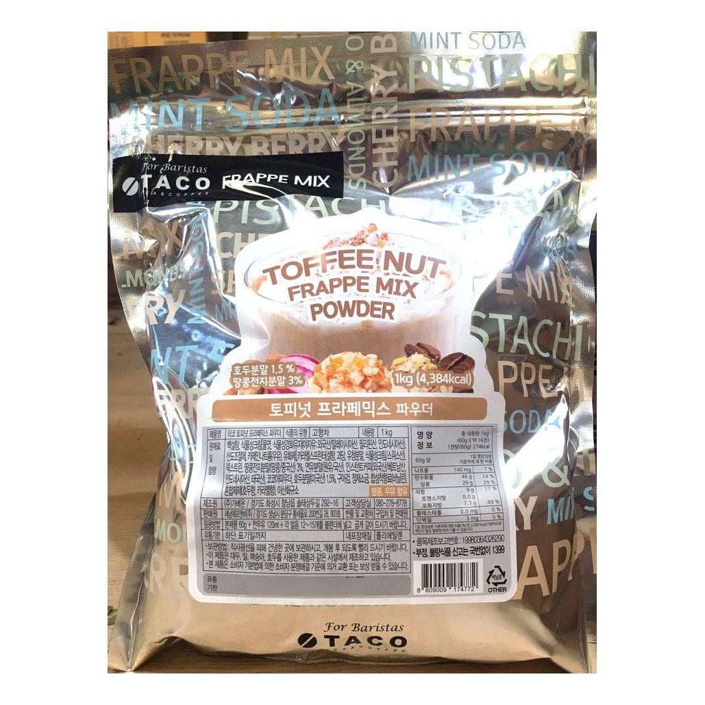 토피넛 프라페 믹스 타코 1kg x6개 분말 가루 업소