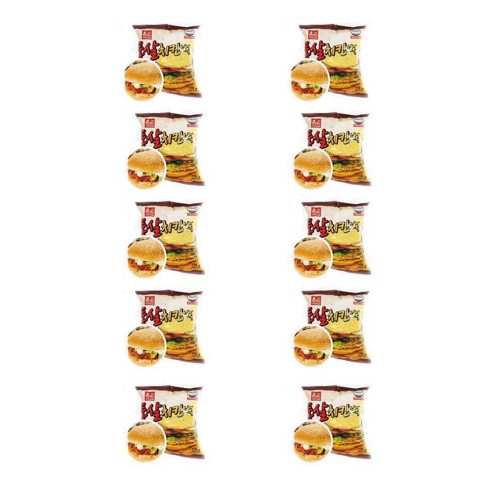 이경규 독서실 빵 통살치킨벅 햄버거 맛있는빵 10EA
