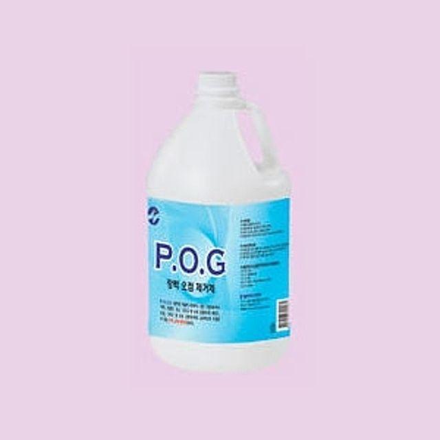 수용성 석재 강력한 오염제거제 POG 3.75L