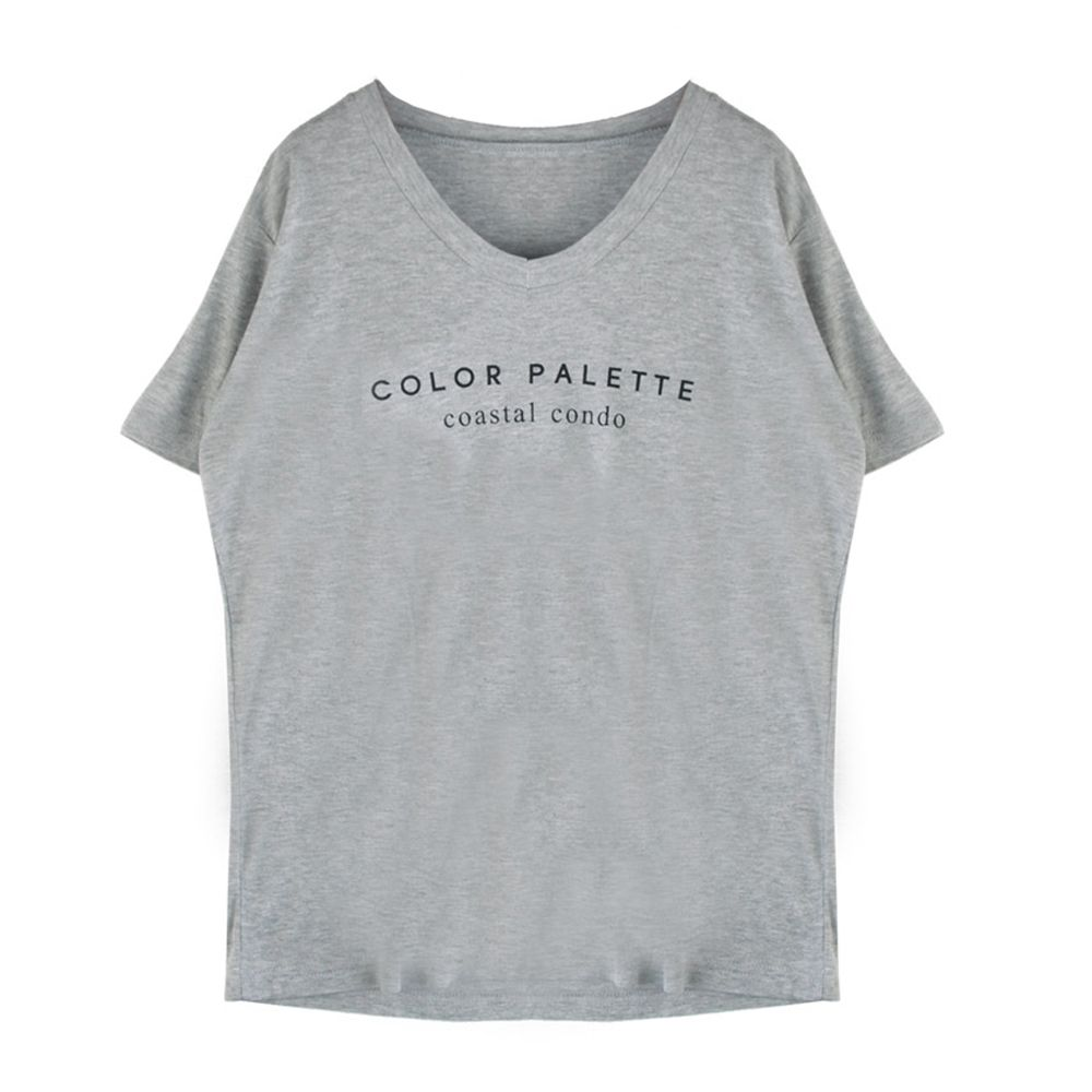 여성 데일리 캐주얼 반팔티 데이트 나들이 티셔츠