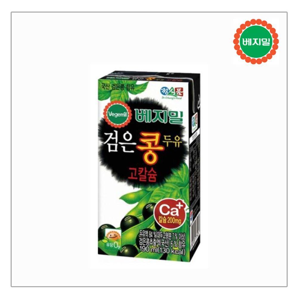 베지밀 검은콩칼슘두유140ml x 24