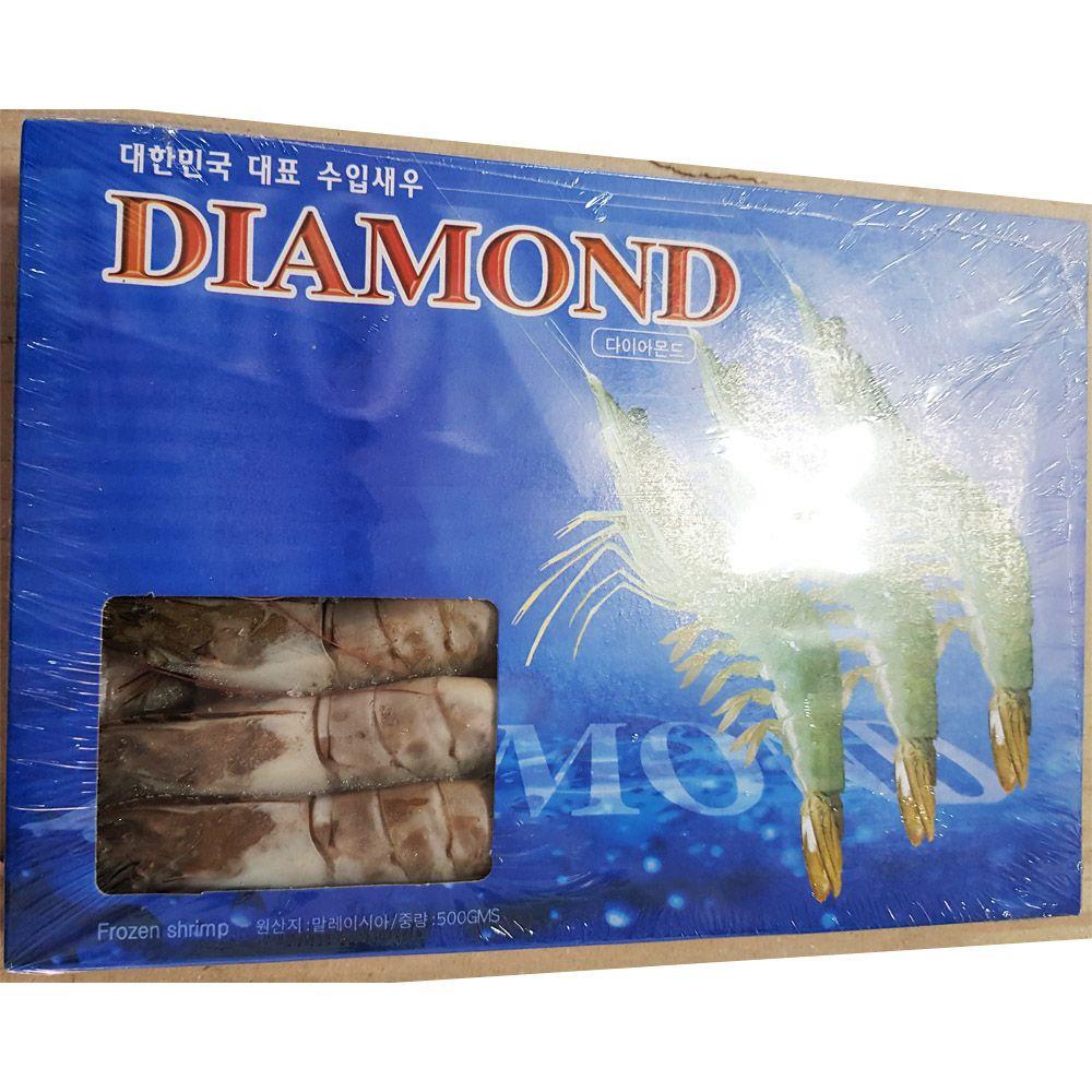 업소용 식자재 재료 냉동 흰다리 새우 15미 500g X10