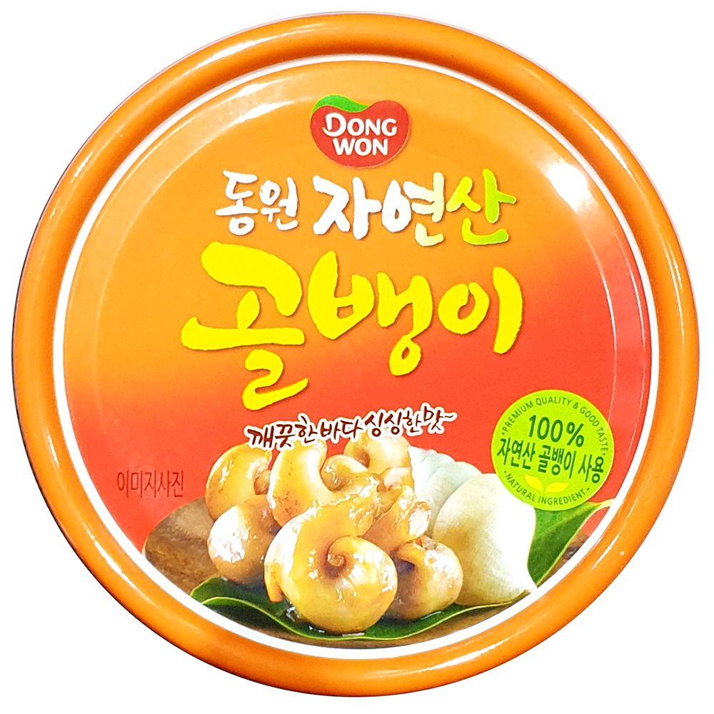 업소용 식당 식자재 동원 골뱅이캔 자연산 140g X48