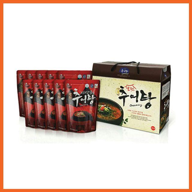 지리산 품은 남원 추어탕 500g x 10팩(선물포장)