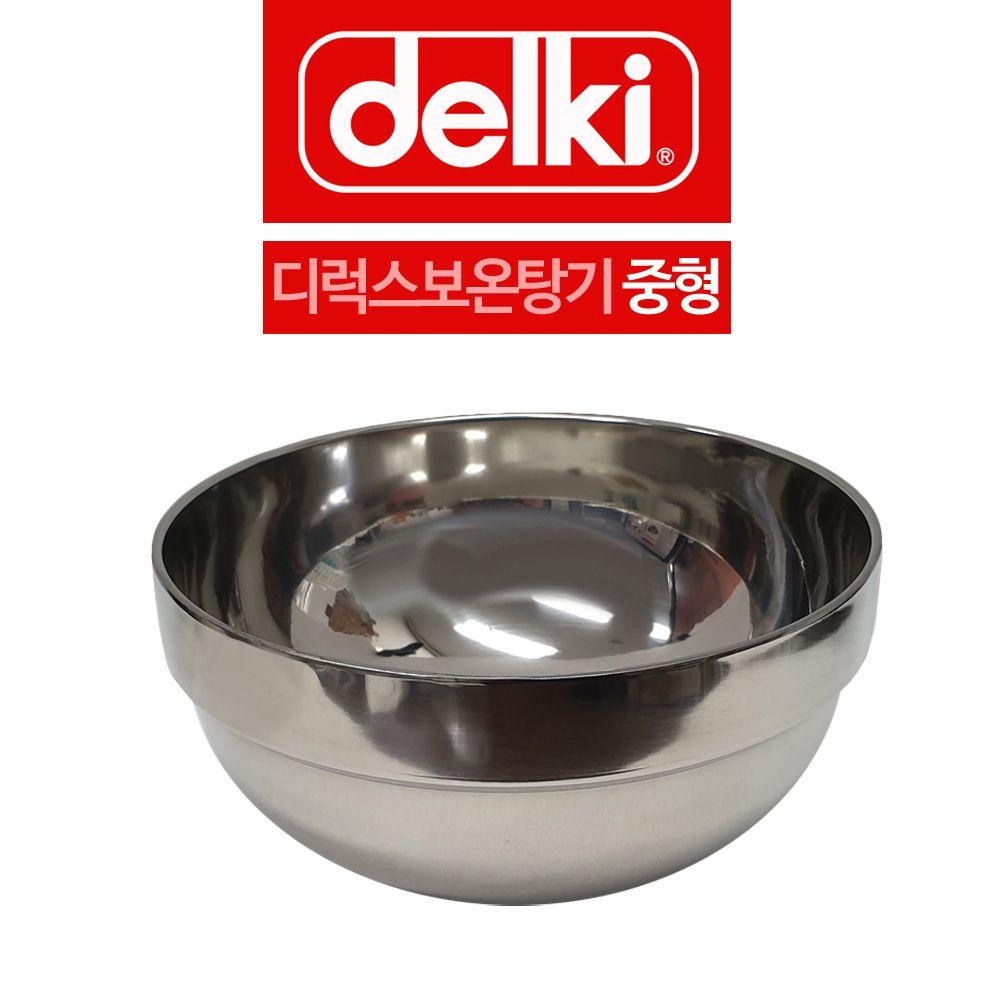 델키 깊은 디럭스 보온탕기 탕그릇 중형