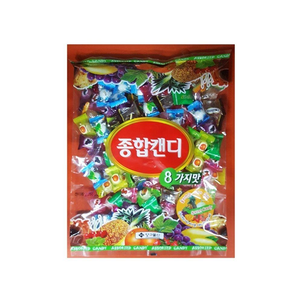 종합사탕(양구 700g) 종합사탕 과자 간식 사탕 캔디
