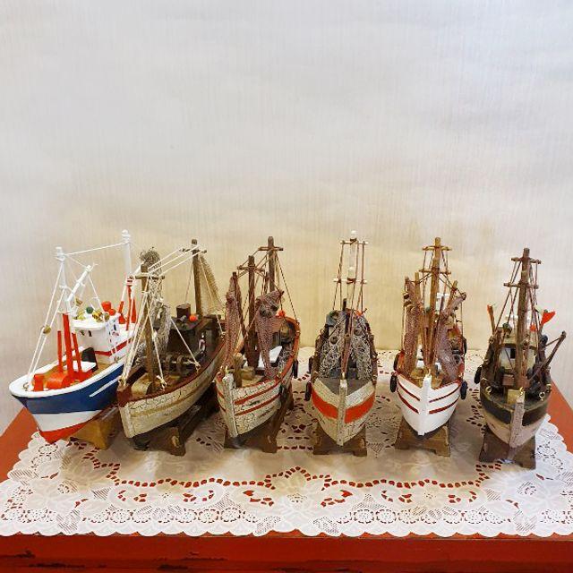 바닷가 조각배 소품 인테리어 장식품 선물 배모형