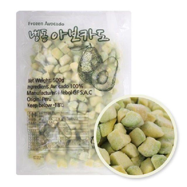 맛과영양 냉동 아보카도 500g(다이스)