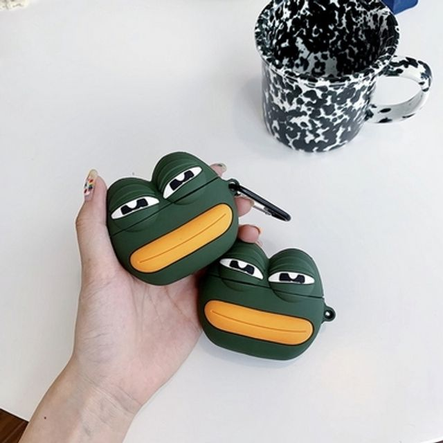에어팟 케이스 귀요미 개구리 시크 커플 친구 선물