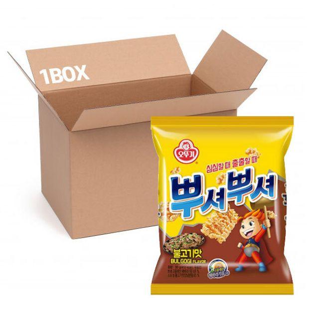 오뚜기 뿌셔뿌셔(불고기맛) 90g (1box 40입)