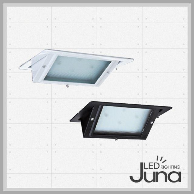 LED 투광기 30W 사각매입형 (프레임흑색 - 주광색)