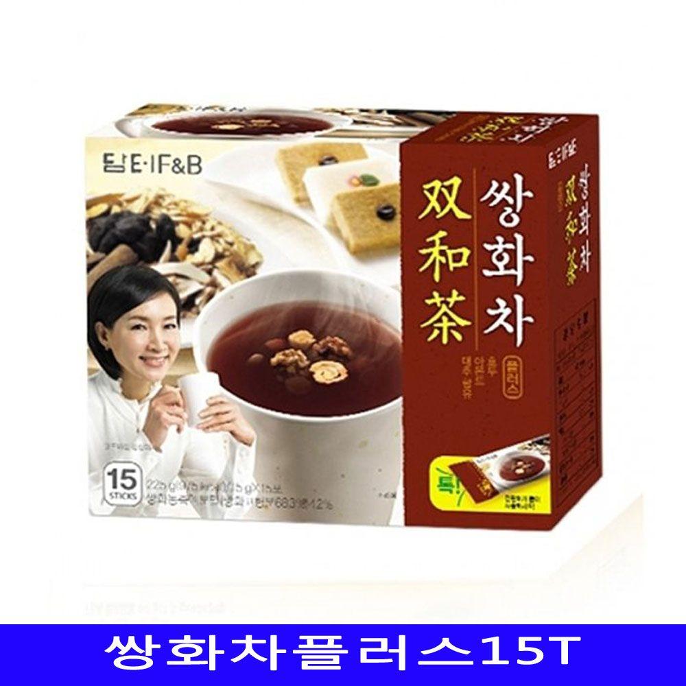 담터 쌍화차플러스 건강차 15개/1박스