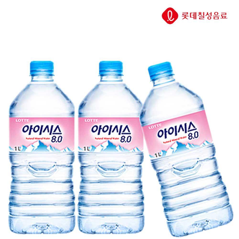 아이시스8.0 1L X 6개 생수/식수/아이시스/물