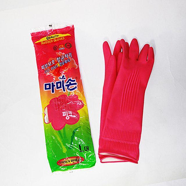 아이티알,NH 마미손고무장갑(대) 주방용품 고무장갑 설겆이 설거지 다용도