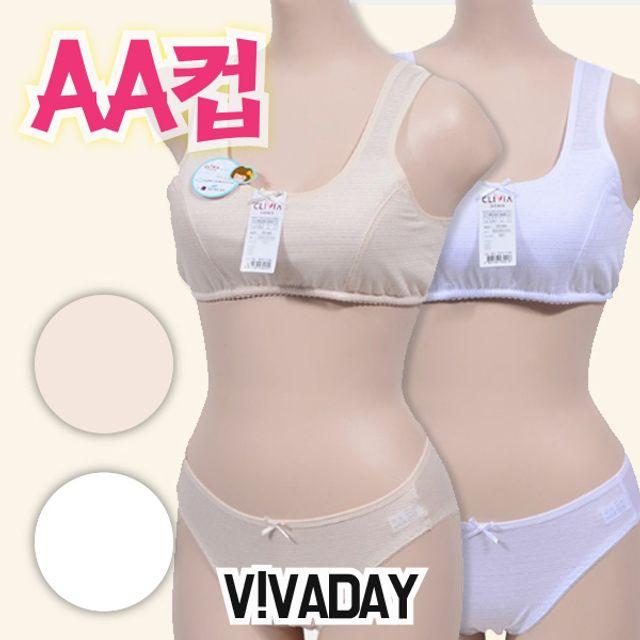 아이속옷 VIVADAY-CN03 AA컵스포츠1단계브라팬티 주니어브라 주니어속옷 아동속옷