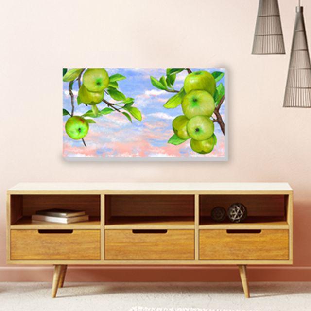 사과그림 사과나무 풍수 캔버스액자 그림드림 5Ap55C