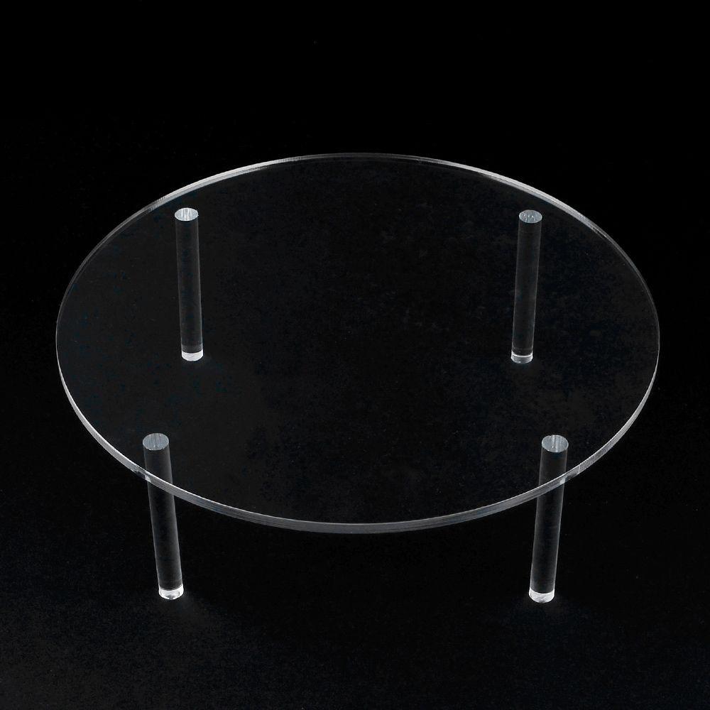 원형 테이블 아크릴 진열대 대형 아크릴진열대