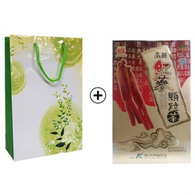 (고려원) 고려홍삼차100포 + 쇼핑백포함