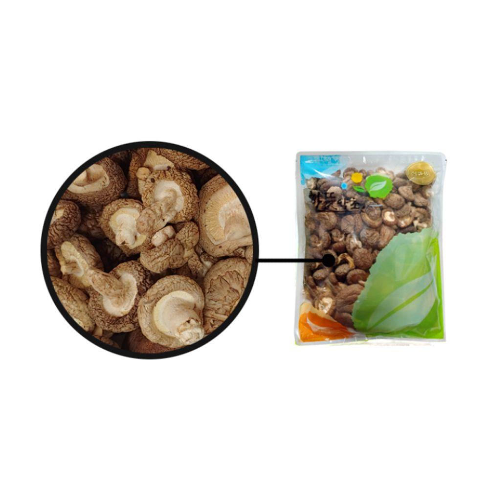 원물 건표고버섯(국내산) 300g 고급 지퍼백 포장