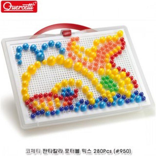 판타칼라 포터블 믹스 280pcs 장난감 비즈 놀이