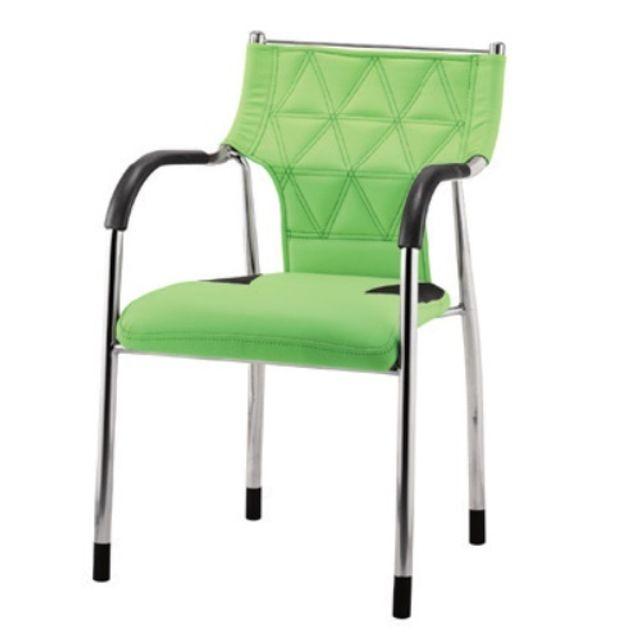 퀄팅 쿠션 사무실 의자 회의실 의자 강당의자 그린