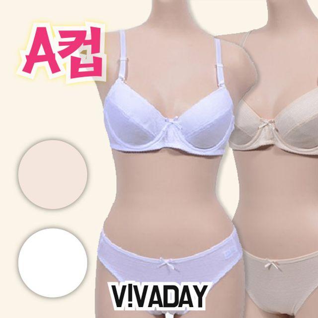 아이속옷 VIVADAY-CN07 주니어 A컵브라팬티세트 주니어브라 주니어속옷 아동속옷