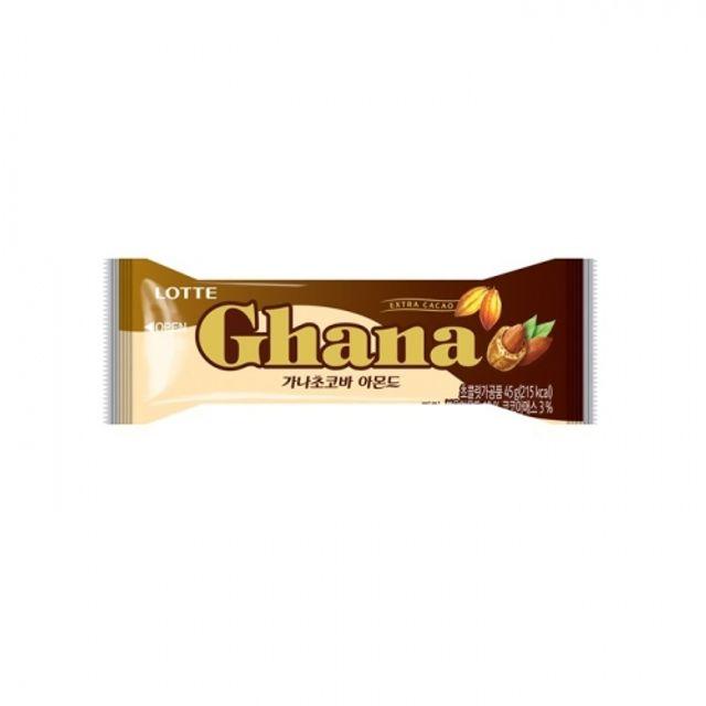 가나 초코바 아몬드 45g 96개 초콜릿 과자 고열량
