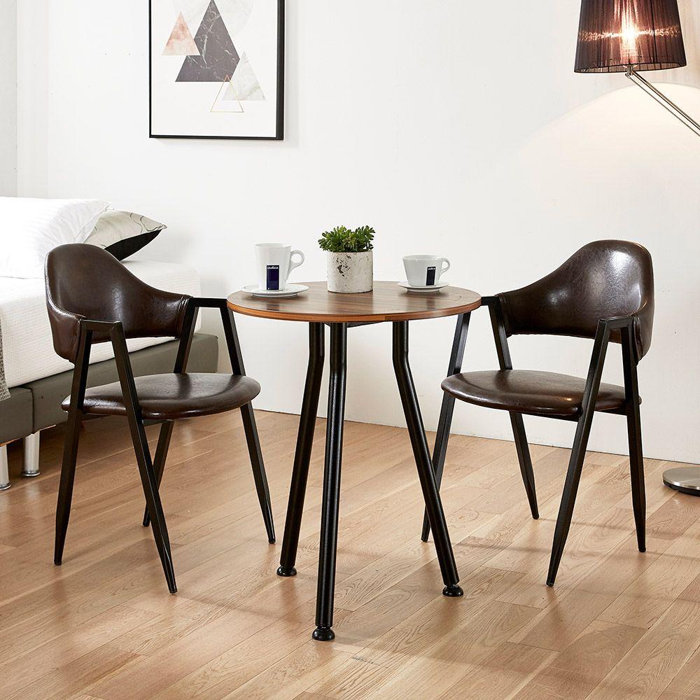 원형 부부테이블 LPM 베란다 카페 발코니 식탁 협탁