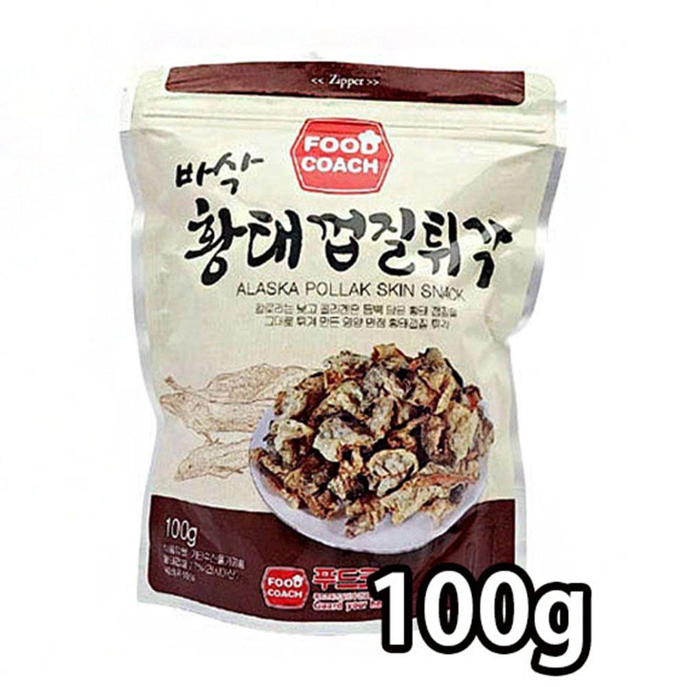 콜라겐 영양 만점 황태껍질 튀각 바삭한 술 안주 100g