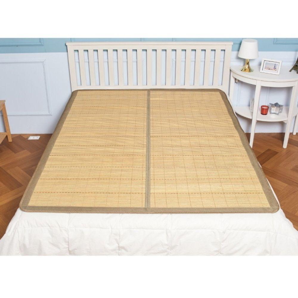 접이식 천연 대자리 중 150x190cm 거실 쇼파 침대