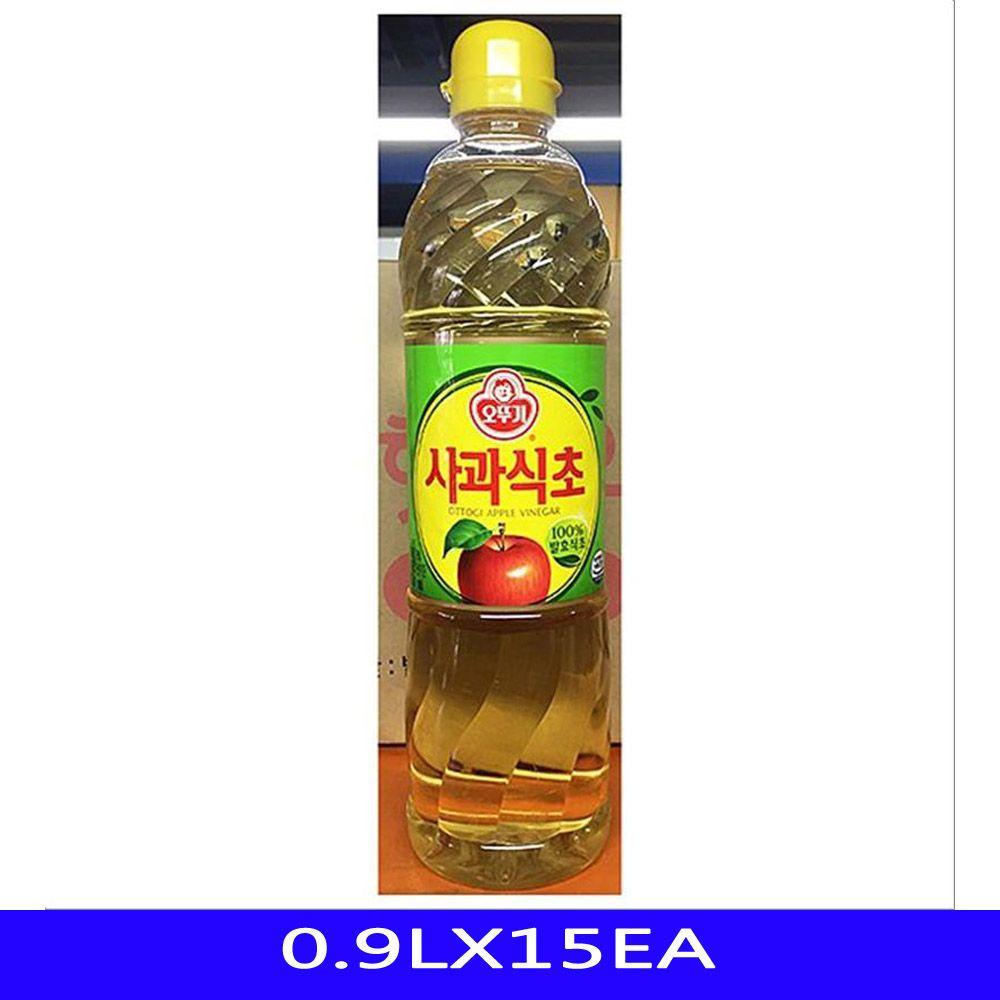 발효 사과 식초 업소용 식자재 오뚜기 0.9LX15EA