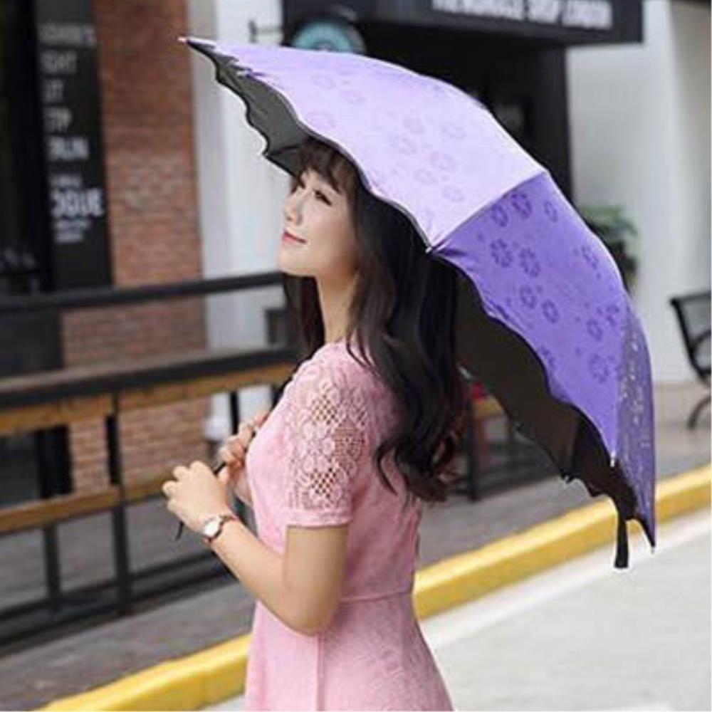 비오면 꽃피는 우양산 자외선차단우산접이식우산