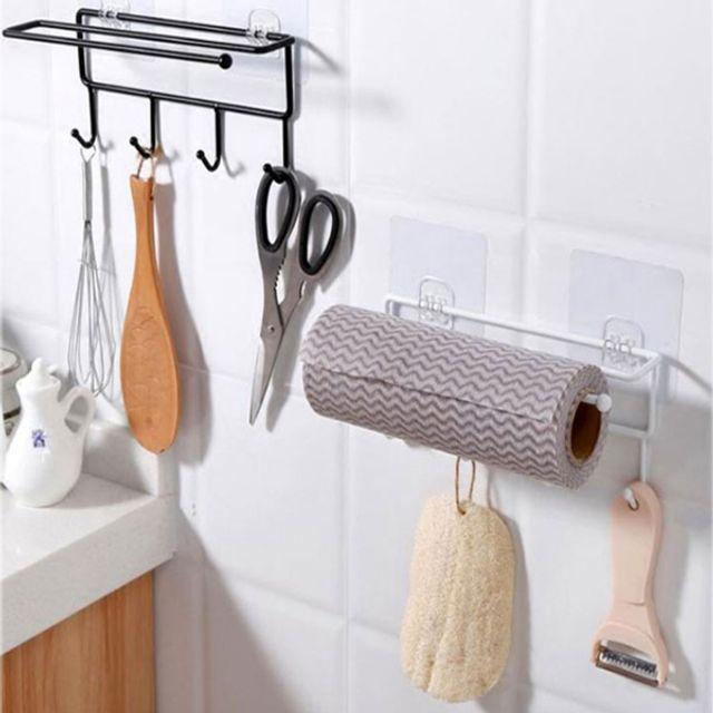 주방걸이 부착형 주방용품걸이 키친타올걸이 욕실걸이 타일부착