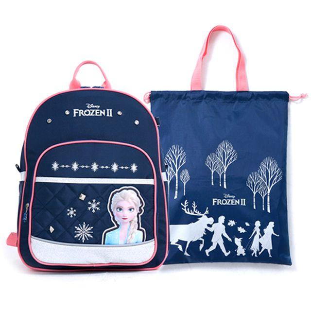 겨울왕국2 신학기 가방세트 TA08S 학생백팩 보조가방