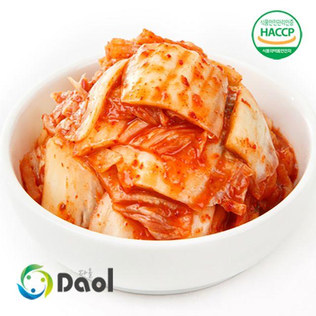 다올 국산 맛김치 슬라이스김치 10kg