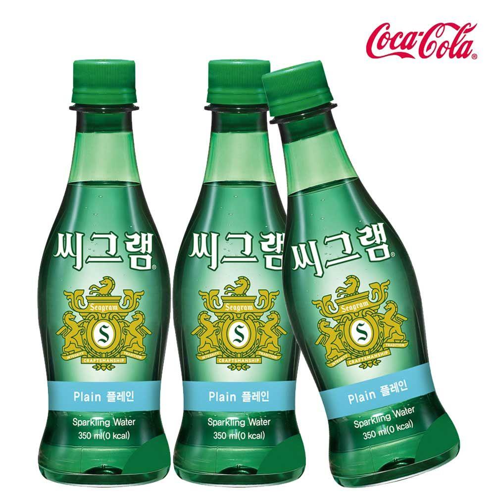 씨그램 플레인 350ml X 12개 탄산음료/탄산수/탄산