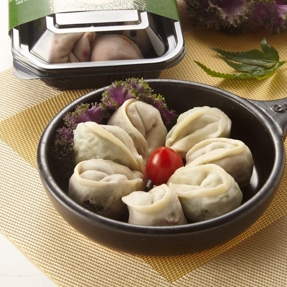 오강푸드 국산 채식 비건 간식 야식 야채 만두 320g