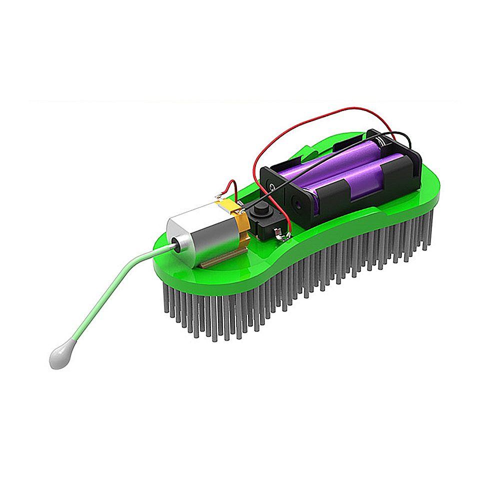 과학 키트 청소 진동 로봇 만들기 스위치형 실험