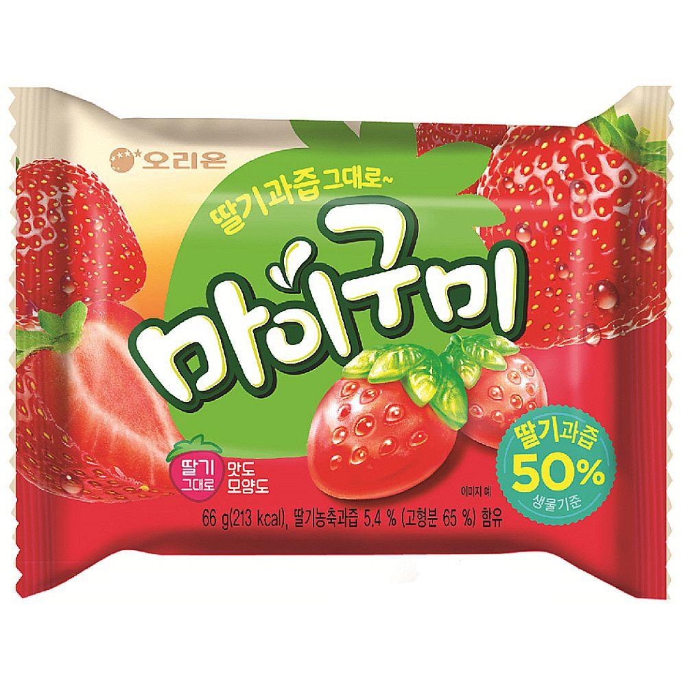 마이구미 딸기맛 젤리 10개입 X 2ea