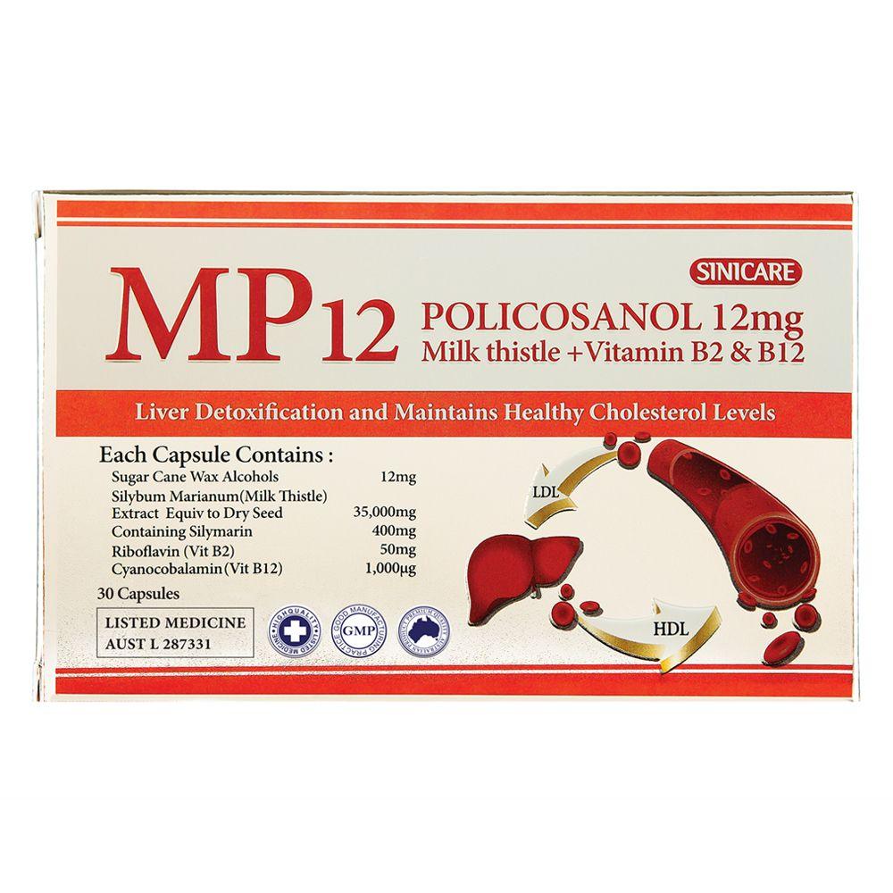 호주 시니케어 MP12 폴리코사놀 12mg 30캡슐