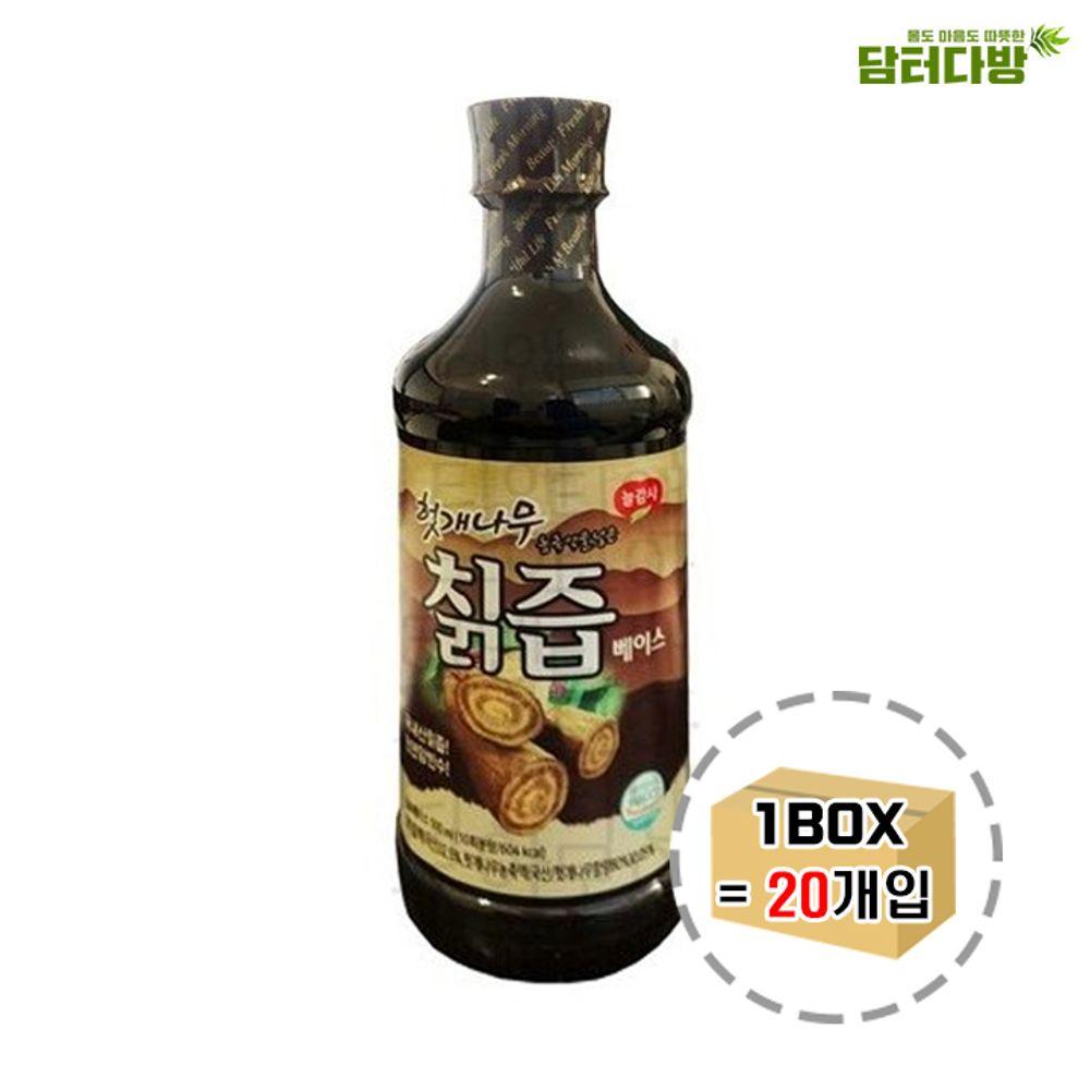 광야 헛개나무 칡즙 베이스 PET 500ml 1BOX (20개입)