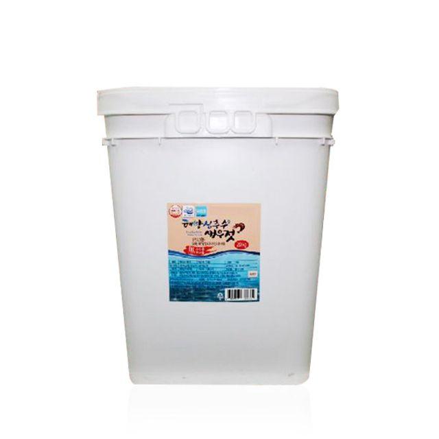 동해 해양심층수 새우젓 20kg