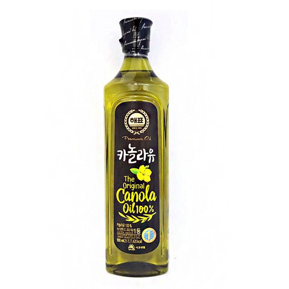 부침 튀김 볶음 식용유 요리유 기름 카놀라유 900ml