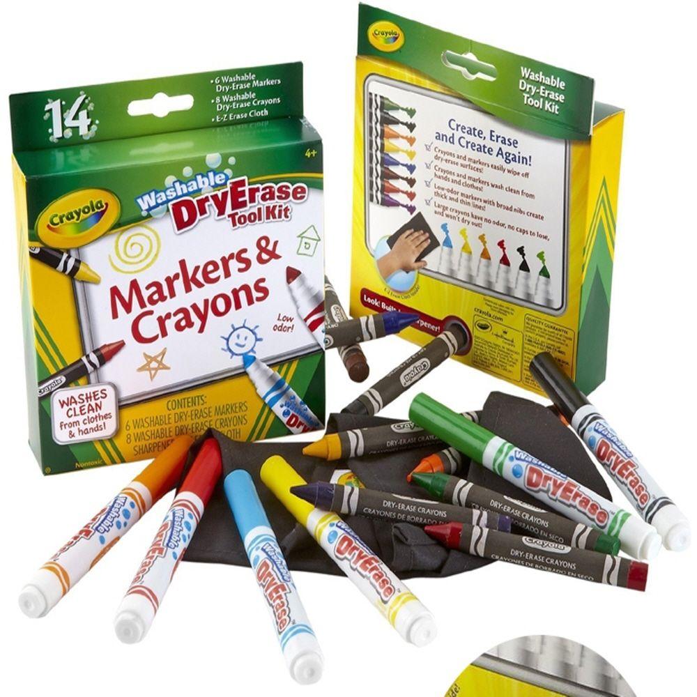 스케치북 미술 색칠 놀이 보드용 크레용과 마카 세트