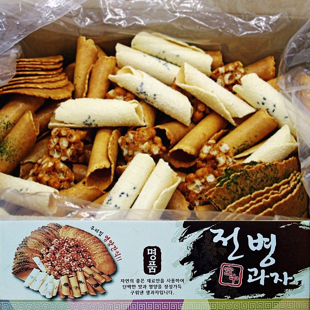 센베과자 삼베과자 전통과자 선물세트 750g 2박스