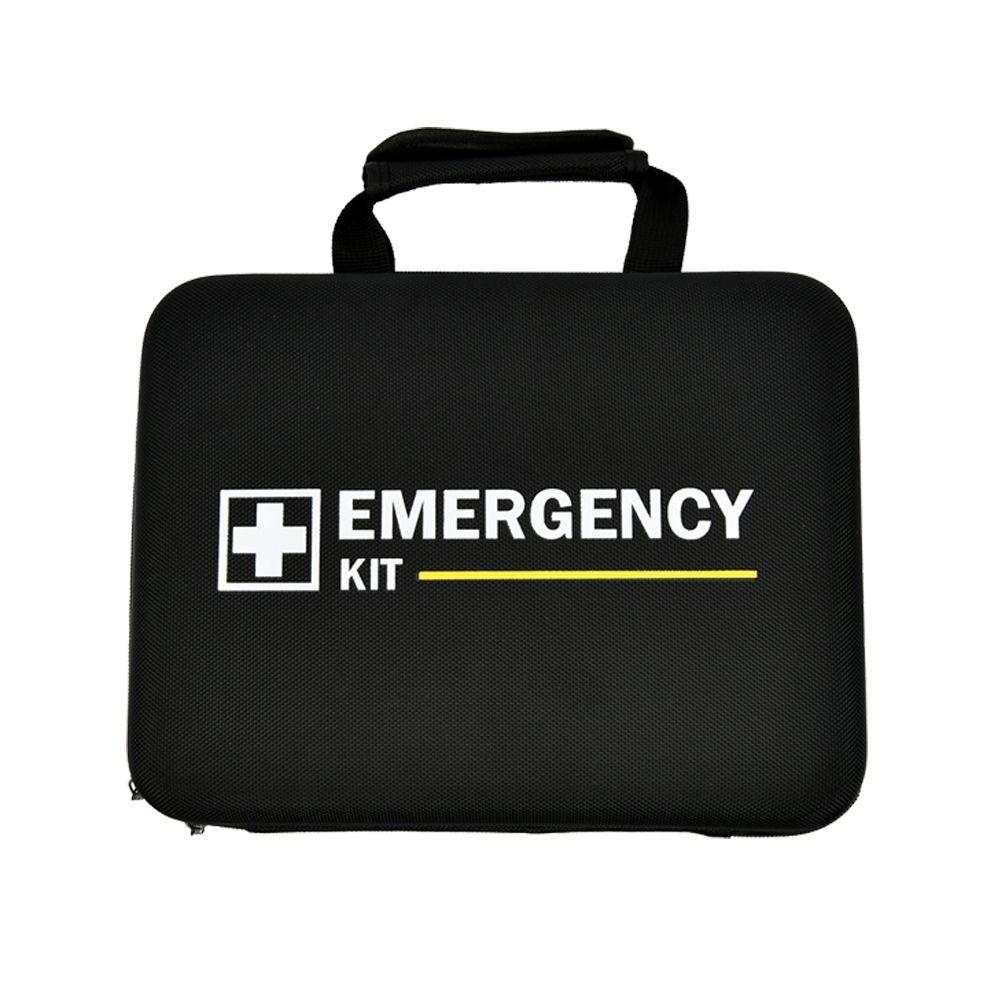 EMERGENCY KIT 검정가방 (10개) 응급 비상 구급가방